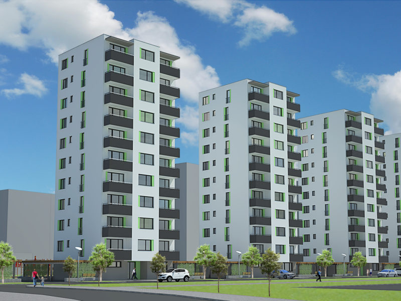 bytové domy Ekoprim Prešov